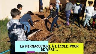 Autonomie alimentaire, Permaculture, programme EDD ET labellisation E3D ministère de l'éducation .