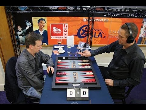 Fair play in the final of Gibraltar Backgammon Championships 2017
