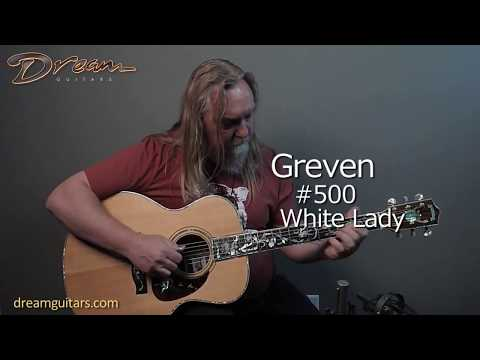 1985 Greven #500 White Lady, Cocobolo/German Spruce