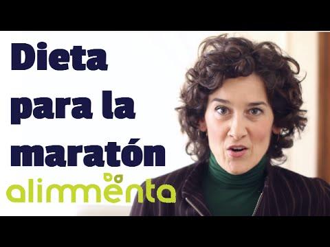 plan de alimentacion para correr un maraton