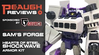 Video Review: Sam's Forge - Hearts of Steel SHOCKWAVE Armor Kit
