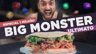 BIG MONSTER: ULTIMATO [Especial 1 Milhão!!!] (4.5kg / R$3000,00 / #64)