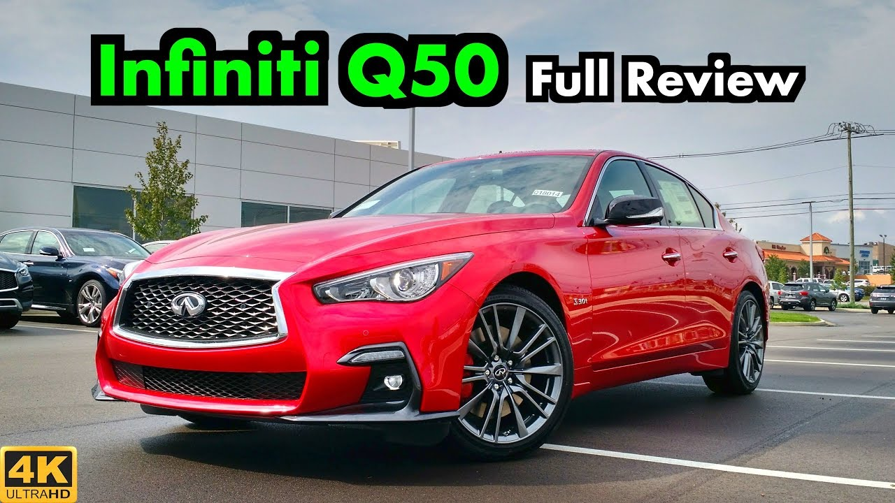 2019 Infiniti Q50 Red Sport 400: FULL REVIEW + DRIVE | The Red Hot and Blazing Fast Q50!