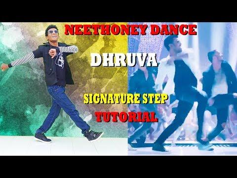Neethoney Dance || Dhruva | Ram Charan || Signature Step Tutorial || Nishant Nair