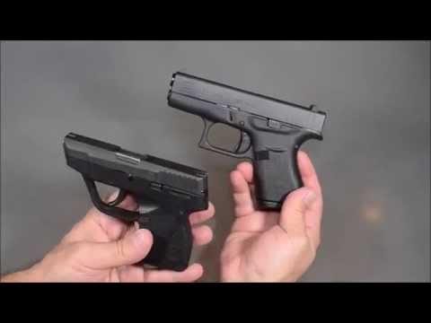 Pistolas Glock G42 vs Taurus 738 TCP