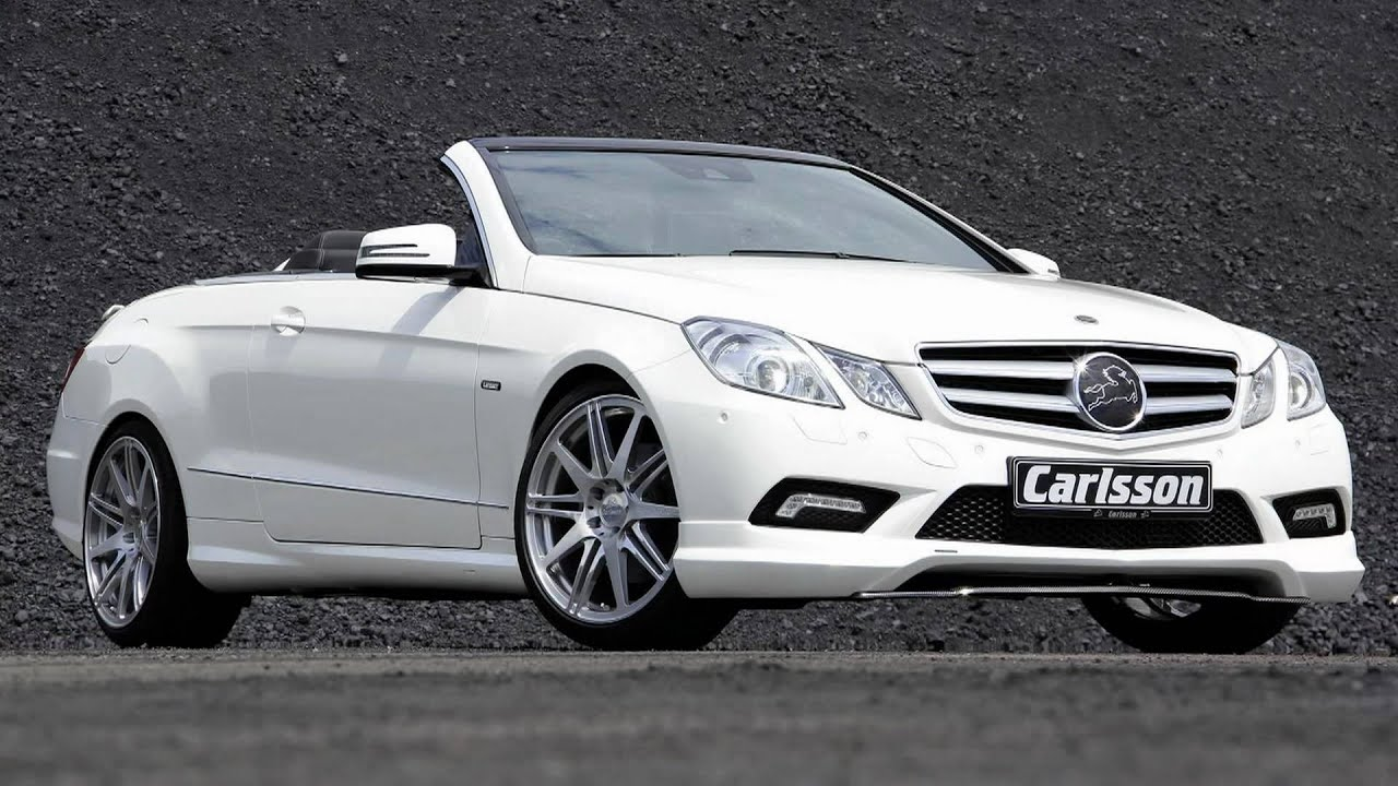2010 Carlsson Mercedes Benz E Class Cabriolet Youtube