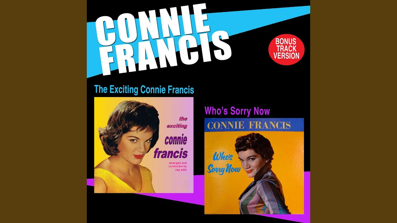 connie francis youtube
