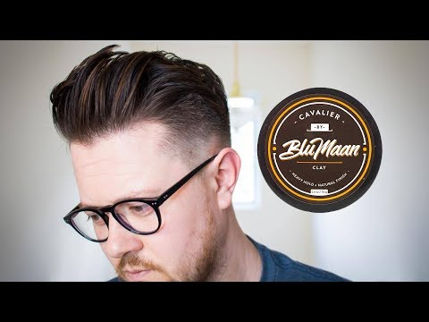 How to Use Hair Clay | CAVALIERCLAY | Men's hairstyling