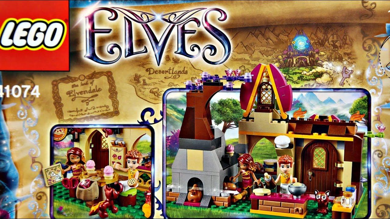 Azari And The Magical Bakery I Magiczna Piekarnia 41074 Lego 41060 Disney Princess Sleeping Beautyamp039s Royal Bedroom Elves Elfy Youtube