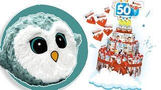 Kinder Niespodzianka • 50 lat • Gang Słodziaków • Imprezowe zabawki