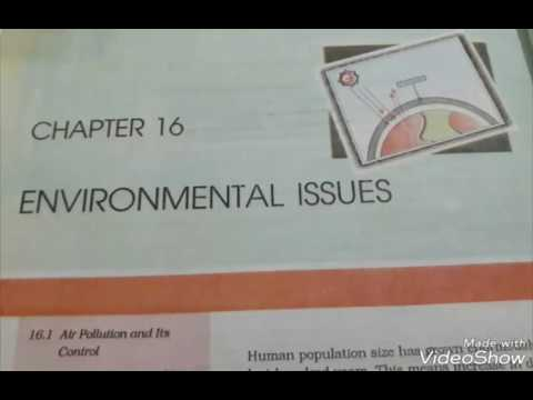 Chapter:- 16 Environmental issues class 12th (NCERT READING) thumbnail