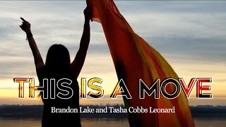 Worship Flag Dance This is a Move at Bethel by Brandon Lake & Tasha Cobbs ft: Claire CALLED TO FLAG