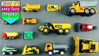 Bulldozer And Dump Truck For Children | Construction Vehicles For Kids | Kids Learning | Kids TV