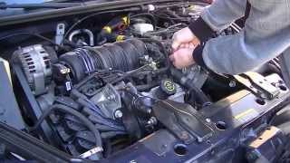 How to change a thermostat on a GM 3800, the fastest way