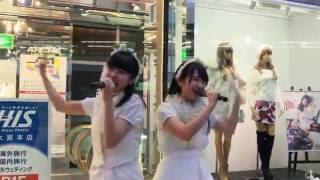 葉月智子ちゃんと栗本柚希の2人組のアイドルユニット「リーフシトロン...