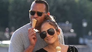 Jennifer Lopez and Alex Rodriguez Show the Sweetest PDA in Paris: See the Pics!