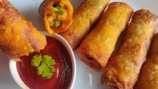 Crispy Vegetable Spring Rolls | Iftar, Iftar Recipe, 2020