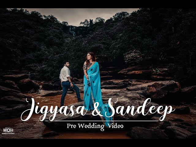 Gerua || Best Pre-wedding Patna || JIGYASA & SANDEEP || MOH - MEMORIES OF HAPPINESS