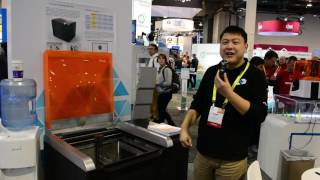 The Fastest And Biggest SLA Printers At CES