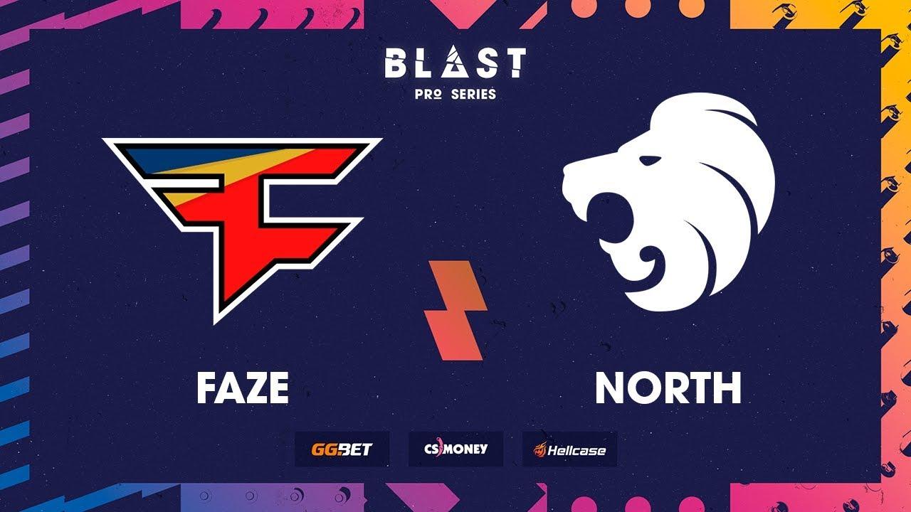 Faze vs north live