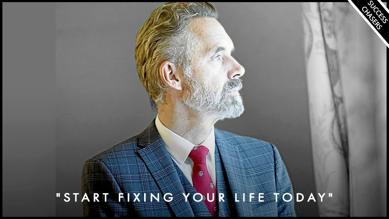 START FIXING YOUR LIFE TODAY! Don't Waste Anymore Time - Jordan Peterson Motivation