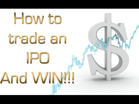 How to Trade IPO -  day trading stocks
