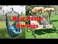 Top 9: Best Patio Swings 2019