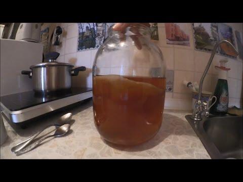 Как приготовить в домашних условиях чайный гриб