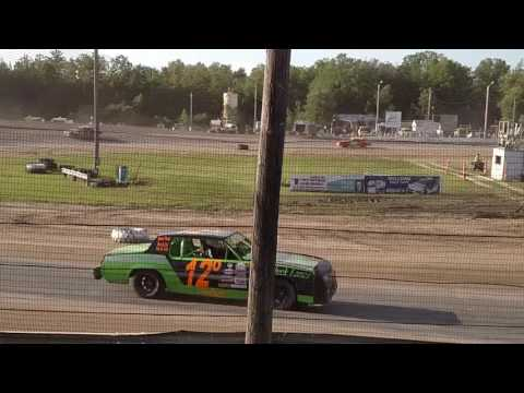 First feature win at Bemidji Speedway 6/19/2016