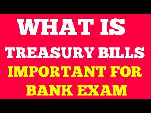 WHAT IS TREASURY BILLS | TYPES OF TREASURY BILLS