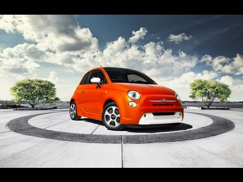 2013 Fiat 500e Electric 0-60 MPH First Drive & Review