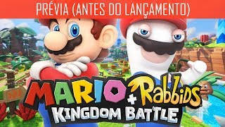 Mario + Rabbids Kingdom Battle : Conferindo o Game