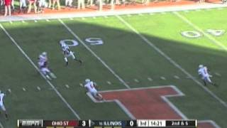 Ohio State Buckeyes vs Illinois 2011 Football Highlights Video