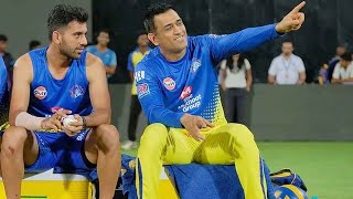Mahendra Singh Dhoni will make you remember what your strengths are: Deepak Chahar
