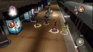 Marvel Ultimate Alliance 2 PS3 Co Op Playthrough Part 3