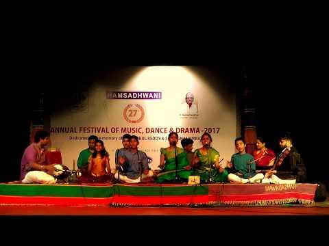 """""""Pa Da Pa Sa"""" - An innovative Swara-krti - Rendered by disciples of Chitravina N Ravikiran"""