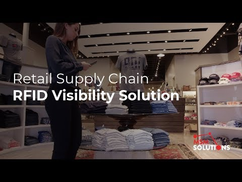 Retail Supply Chain RFID Visibility Solution