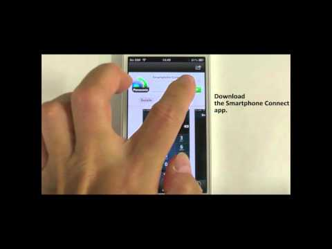 How to set up the Smartphone Connect - Panasonic KX-PRW Series