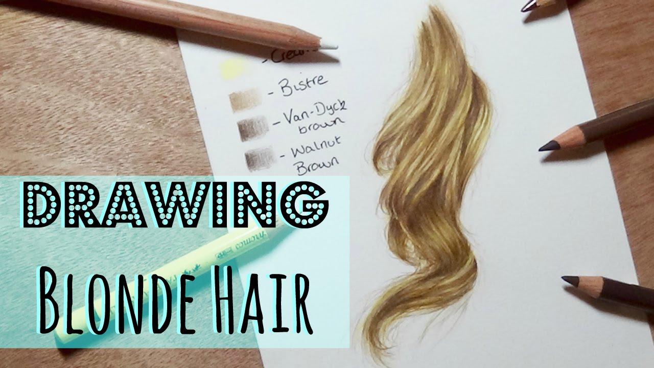 drawing tutorial realistic blonde