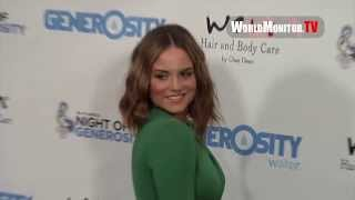 Singer JoJo Simply Gorgeous arriving at 5th Annual Night Of Generosity Charity Benefit