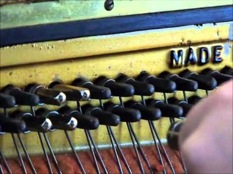 How To Replace Piano Tuning Pins