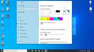 Windows 10 Son Güncelleme EFSANE Yeni Özellikler 2020 #2 (Programsız Fare İmleci Renkli Yapma !! )