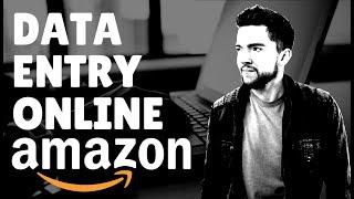Amazon Data Entry Job from Home 2020 | No Degree Needed