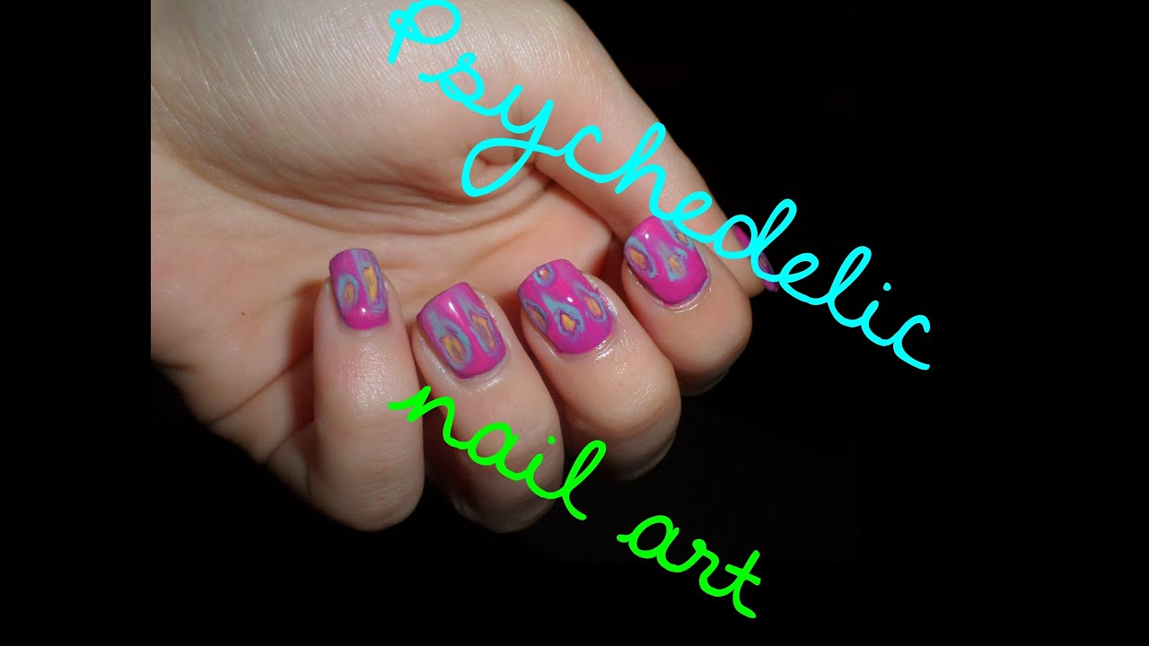 Psychedelic Nail Art Youtube