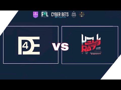 D4U vs HellRaze  CyberStars Tournament  Standoff 2