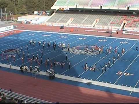 Skyview High School Marching Band & Blue Diamond Color Guard DIII 10-15-2011