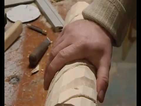 Как сделать резные столбы своими руками