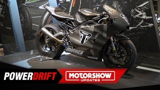 Triumph Moto2 Prototype The New Daytona 765 Maybe Powerdrift