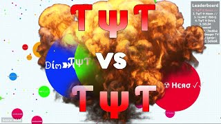 Agar.io // TYT vs. TYT?! // Awesome Clan Moments in Agario