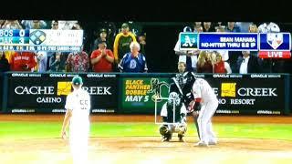 Sean Manaea no hitter